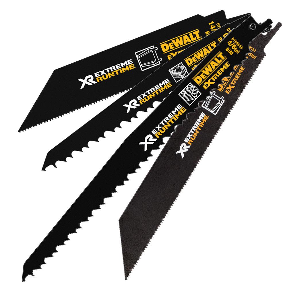 DeWalt DT99555-QZ Flexvolt Xtreme Runtime Pack of 5 Sabre Saw Blades