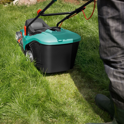 Bosch Green Rotak 43 Ergoflex Corded Electric Rotary Lawn