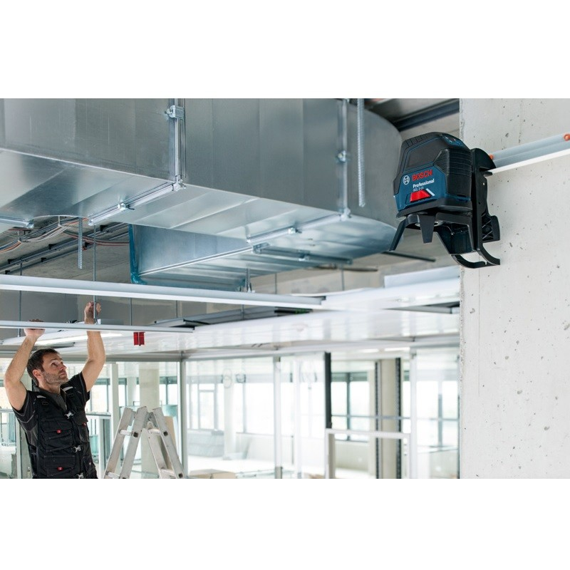 Bosch Gcl 2 15 Self Levelling Cross Line Combi Laser With