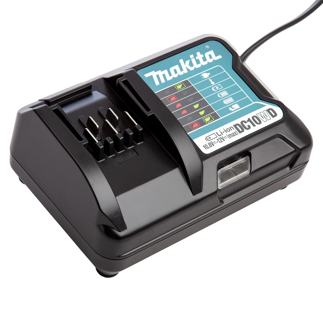 Makita DEAADP06 USB Port Battery Charger for 10.8v CXT Lithium Batteries
