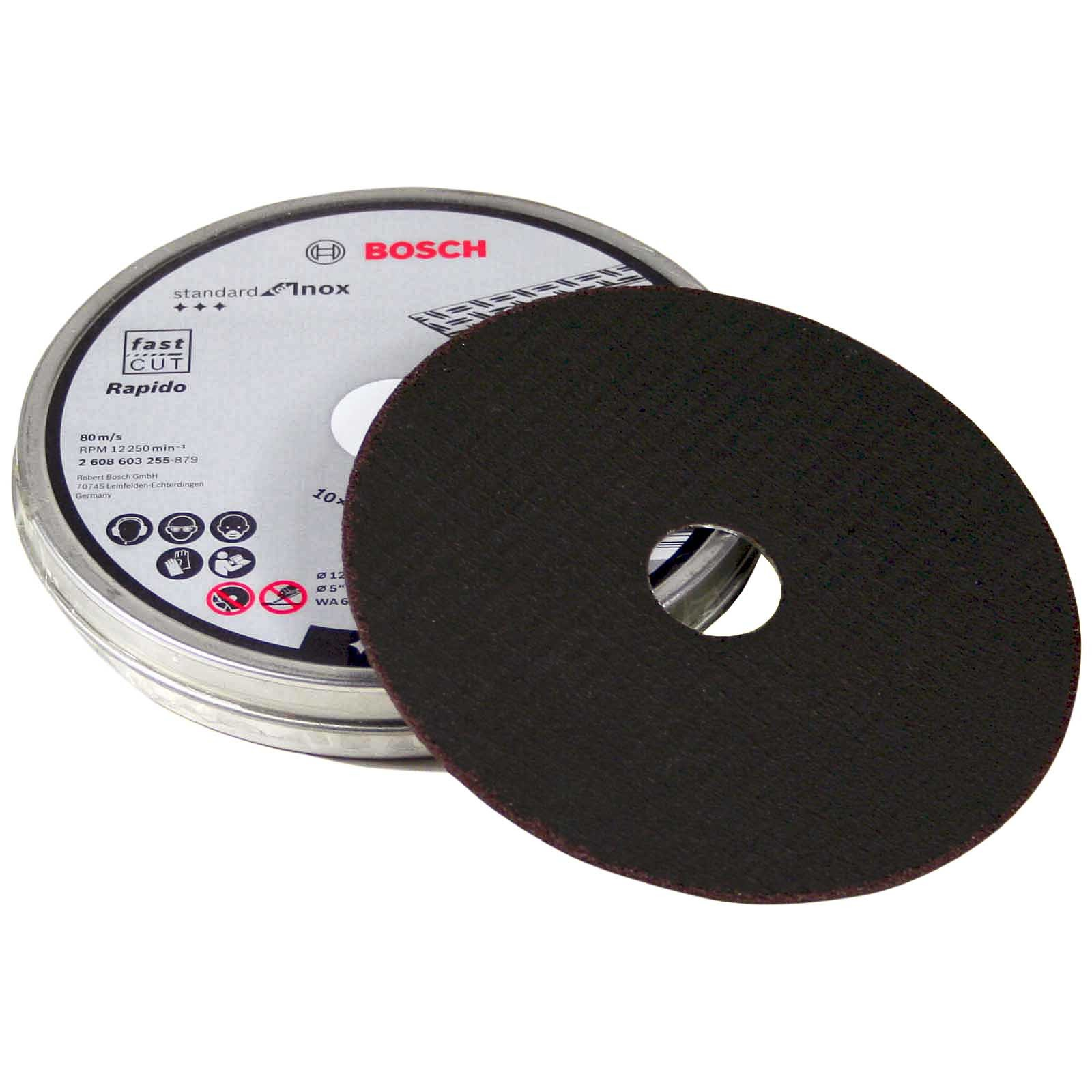 """Angle Grinder Cut Off Metal Cutting Disc 125 x 1.0 x 22.23 for 125mm 5"""""""