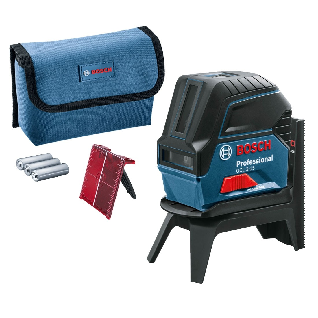 Bosch Gcl 2 15 Self Levelling Cross Line Laser With Rm1