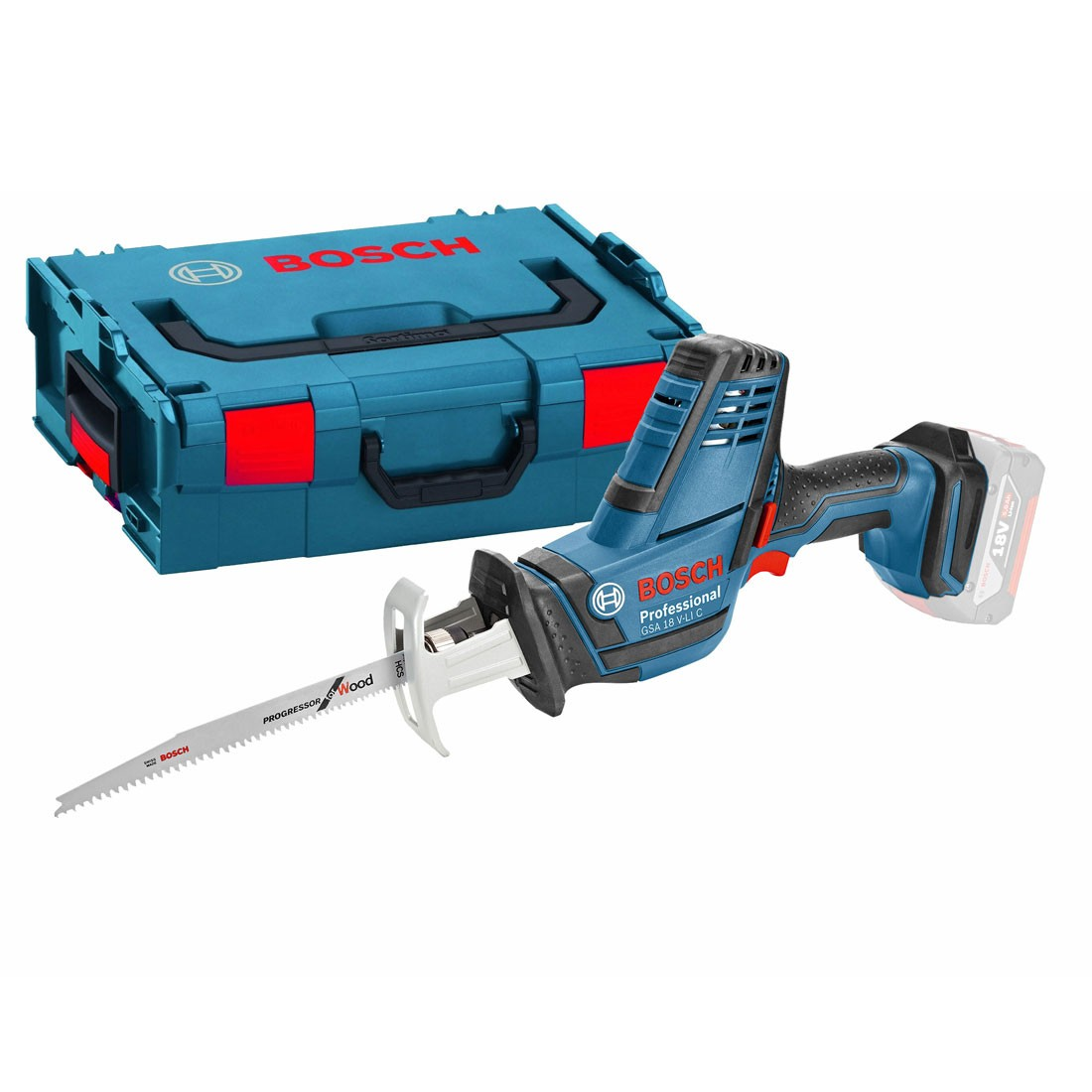 9aa3ef13c9d Bosch GSA 18 V-LI C 18v Compact Reciprocating Saw Body Only in L-Boxx  06016A5001 | Powertool World