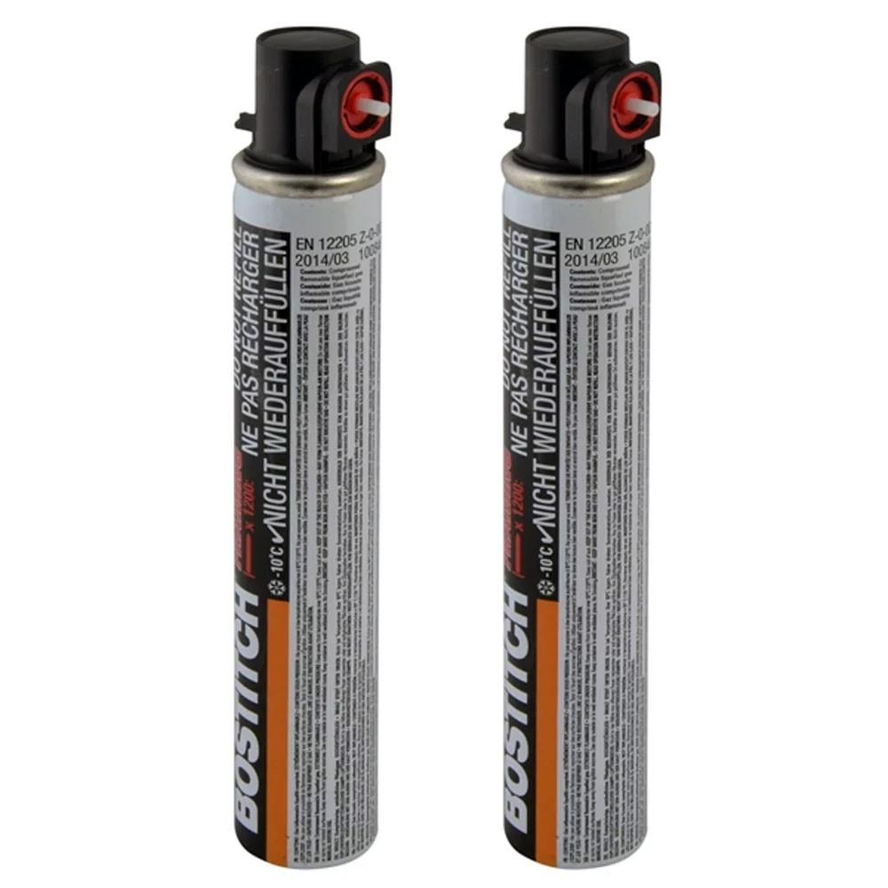 Bostitch FC80MLHP Large 80ml High Pressure Gas Fuel Cell Twin Pack