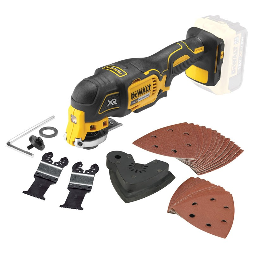 Dewalt Dcs355n 18v Brushless Multi Tool Body Only Inc Accessories