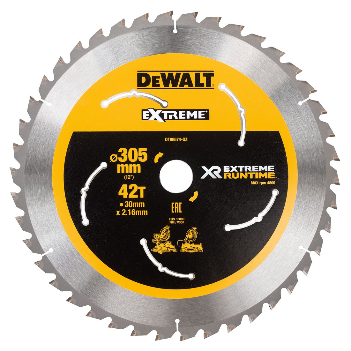 Dewalt Dt99574 Qz Xr Flexvolt Extreme Runtime 305mm X 30mm