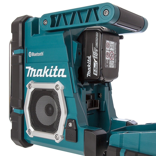 Jobsite Tool Box >> Makita DMR106 AM/FM Bluetooth Job Site Radio   Powertool World