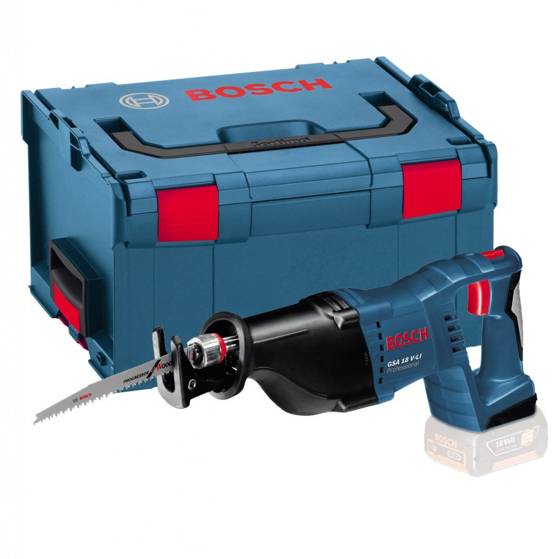 eb95d3a4fc6 Bosch GSA 18 V-LI 18v Professional Reciprocating Saw Body Only in L-Boxx  Carry Case | Powertool World