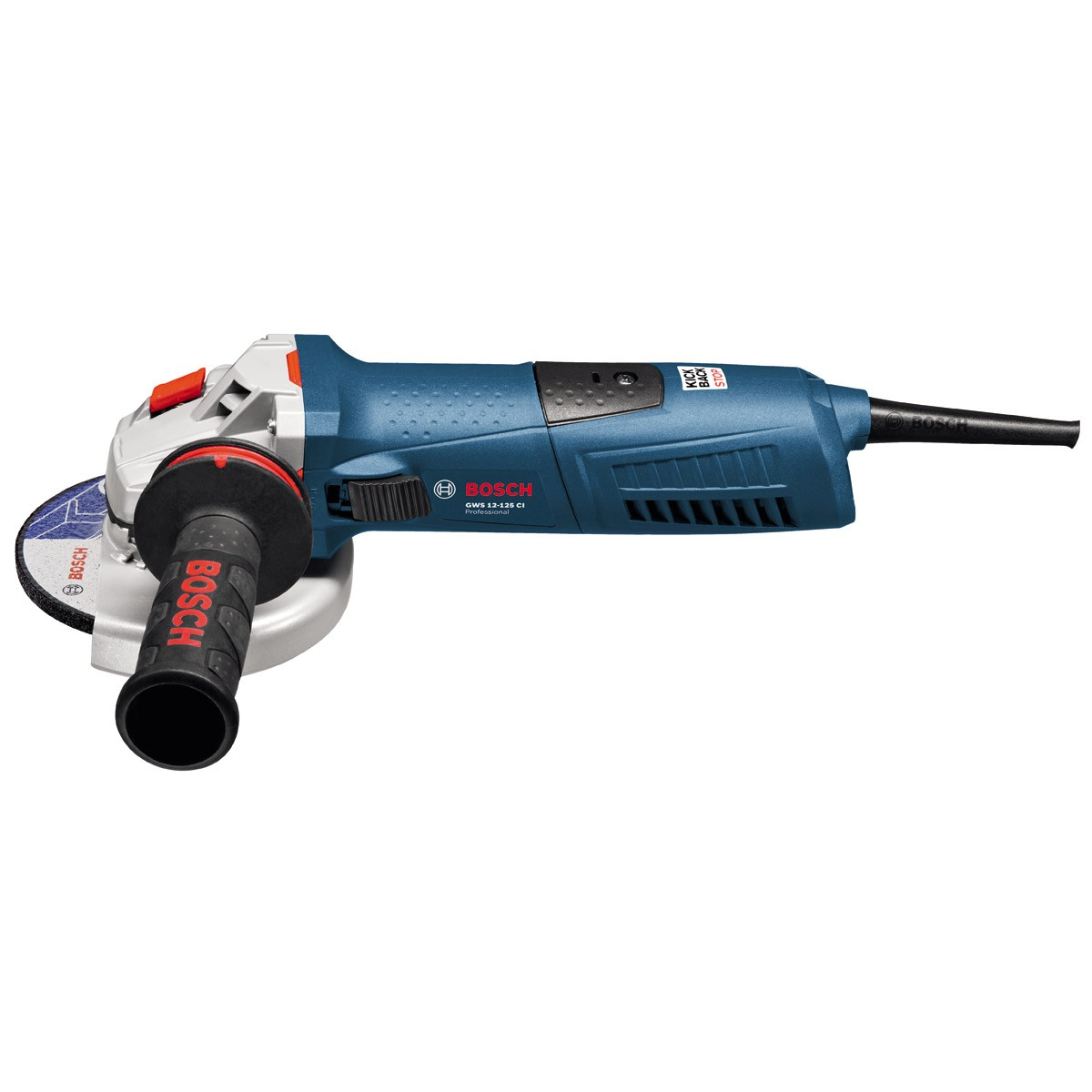 Bosch Gws 12 125 Ci Angle Grinder With Anti Vibration