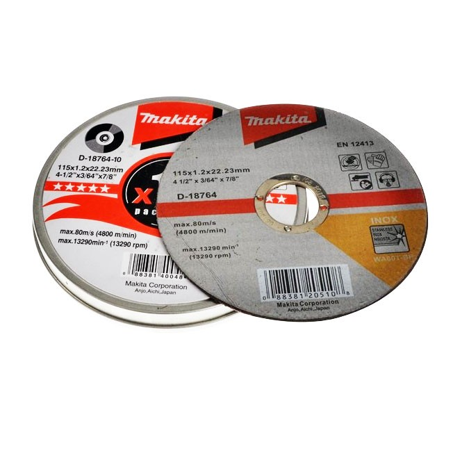 10 Pack Am-Tech 1.2mm x 115mm Thin Metal Cutting Discs 3 Year Warranty