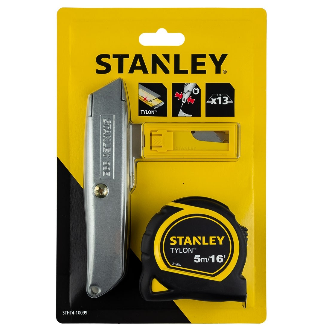 Stanley 10099 99e Retractable Knife Blades Tape Measure Pack