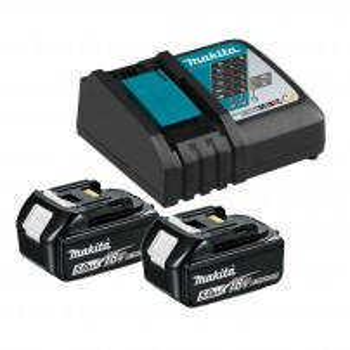 DC18RC Charger /& Case Makita DBO180Z 18V Li-ion Random Orbit Sander with BL1830 3.0Ah Battery
